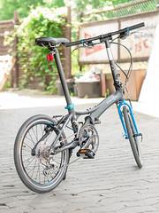 P1110136 (daniel kuhne) Tags: bike fast panasonic compact foldingbike dahon klapprad visc faltrad lumixgf1 olympus45mmf18
