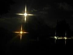 ...by moon, street, garage & porch light.... (carbumba) Tags: street night lights moonlight blackbacground