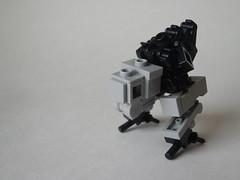 TW-r1 (Legomania.) Tags: lego twr1 microscale micro scale transport transporter walker moc legomoc