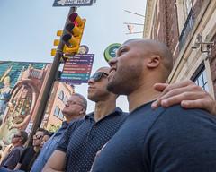 Philadelphia Pride Parade,  2016 (Alan Barr) Tags: street city people color philadelphia lumix candid group streetphotography pride panasonic sp streetphoto gaypride 2016 gx8