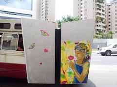 Flor (D11 Urbano) Tags: flores flower art girl stencil arte venezuela flor caracas urbano venezolano doscaminos arteurbano d11 streetartvenezuela artvenezuela d11streetart arteurbanovenezuela d11art d11urbano