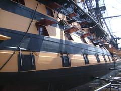 HMS Victory Naval Dockyard Portsmouth (Richard.Crockett 64) Tags: ship nelson hampshire victory portsmouth battleship 2010 hms flagship royalnavy battleoftrafalgar historicdockyard hismajestysship