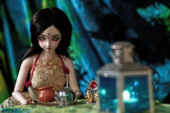 the mama wallah house (UMBRA-GULABA (Instagram: umbra_gulaba)) Tags: chai tea wallah abjd doll propr miniatures dolls toys sqlab sqllabnavi navi india hindu mohini portraits balljointeddolls