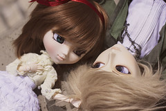 Lovers (Brie G.) Tags: love couple dolls pullip arion rozenmaiden obitsu junplanning taeyang souseiseki pullipsouseiseki taeyangarion