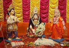 Sri Ram Navami at Mahamilan Math (Yadupati) Tags: hinduism ramayana sitarama ramajanma