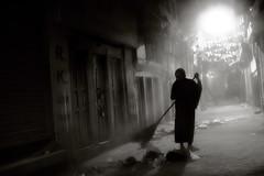 Dust (Norbert Huebner) Tags: street nepal kathmandu sweeper jyatha