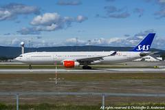 LN-RKN (16) (Christoffer Andersen) Tags: oslo airplane airbus sas a330 osl scandinavianairlines staralliance a330300 passengerplanes osloairportgardermoen sk907 sasnewcabin