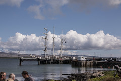 Islay 2016 2 (41) (Yorkshire Reckless & Proud) Tags: blue shadow sea people musician cloud sun lighthouse black bird beach birds silhouette vw landscape scotland boat ship harbour cottage sails tent islay seal duster van camper distillery orsay bowmore bruichladdich dacia
