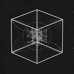 Archillect - Chapter One - Initiate (kimholm_com) Tags: archillect murat pak kim holm art monochrome initiate collaboration design geometry cube graphic plexus