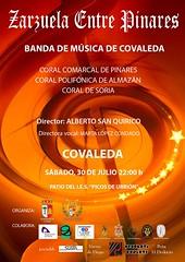 Cartel concierto verano Banda Covaleda (Historia de Covaleda) Tags: duero urbion covaleda