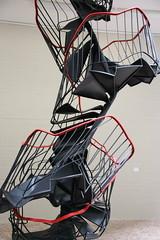 Toilet? Upstairs! (unnamedcrewmember) Tags: art modern germany modernart hannover exhibition 130 modernekunst musem sprengel
