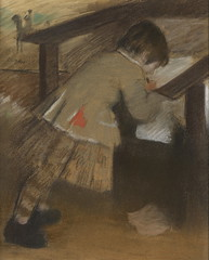 Jacques de Nittis, enfant = Jacques de Nittis as a Child (Grandiloquences) Tags: boys children child 19thcentury drawings pastels impressionism degas worksonpaper childrensart graphicarts 1870s 1880s frenchart bellepoque edgardegas frenchartists playrooms frenchimpressionism drawinglessons denittis frenchimpressionists frenchpainters giuseppedenittis artistschildren frenchpastels frenchpastelists jacquesdenittis impressionistdrawings impressionistpastels frenchdraftsmen