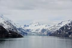 John Hopkins Glacier_Glacier Bay_Alaska_DSC_5134_2_D (renrut01) Tags: glacier john hopkins bay alaska cruise water snow ice blue chiffs mountains cloud white sea