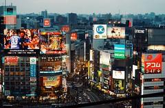 Scenes in Tokyo: Shibuya (Jon-F, themachine) Tags: cityscape cityscapes city cities urban snapseed japan  nihon nippon   japn  japo xapn asia  asian fareastorient oriental tokyo kanto   jonfu 2016 olympus omd em5markii em5ii  mirrorless mirrorlesscamera microfourthirds micro43 m43 mft ft      shibuya