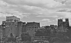 Saada (Micheline Canal) Tags: arabie architecture landscape paysage saada ville yemen maison villagemontagnenoiretblanc