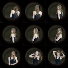 Sophie (Juliet Alpha November) Tags: portrait blonde woman female artist move moving bewegen bewegung hair haar shofia shupingahua strasenkunst sophie drnert jan meifert