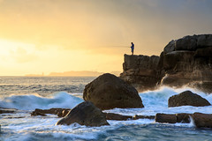 X () Tags: canon 1dx ef24105mmf4lis sea cloud wave rock water keelung fishing sunrise color