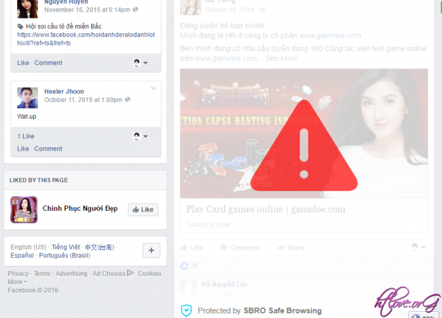 SBRO Safe Browsing tiện ích chặn quảng cáo thông minh