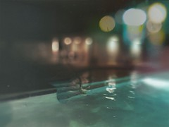 Private pool (BLACK EYED SUZY) Tags: pool bokeh night lights swimming tadaa afterlight summer picsart water explore
