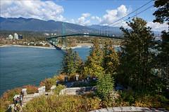 The View From Prospect Point (Clayton Perry Photoworks) Tags: vancouver bc canada summer explorebc explorecanada stanleypark lionsgatebridge prospectpoint bridge