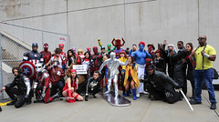 New York Comic Con 2016 - Marvel (Rich.S.) Tags: new york comic con convention nycc cosplay 2016 captain america silver surfer blade luke cage elektra nick fury