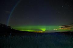 Faux proton arc (Len Langevin) Tags: aurora borealis northerlights longexposure sky night highiso alberta canada nikon d300s tokina 1116