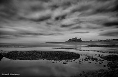 Northumbria - June 2014_1.jpg (r_lizzimore) Tags: coastal sea blackwhite seascape bamburghcastle coast northumbria rocks