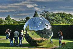 Moon (2015) (Bri_J) Tags: uk nikon d7200 yorkshire yorkshiresculpturepark wakefield westyorkshire ysp sculpture notvital hdr moon