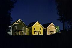 (Patrick J. McCormack) Tags: fuji gw690 kodak portra film 120 analog night suburbs