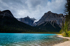 Toward Emerald Peak (jfusion61) Tags: british columbia yoho national park canada canadian rockies emerald lake peak afternoon fall nikon d810 2470mm water landscape clouds lee graduated filter