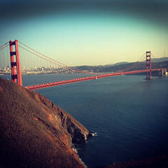 Golden Gate Bridge in San Francisco, California (louisraphael) Tags: sanfrancisco bridge gold golden bay san bridges goldengatebridge area