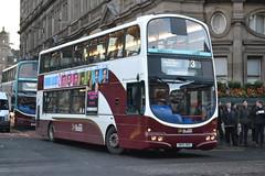 Lothian Buses 706 SN55BKE (Will Swain) Tags: city travel november bus buses scotland edinburgh centre capital north transport scot northern lothian 22nd 2014 706 sn55bke