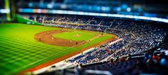 Ball Game (Hansel M.) Tags: contrast landscape angle baseball bokeh miami stadium wide marlins tiltshift