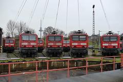 P1820821 (Lumixfan68) Tags: eisenbahn db bahn lew deutsche 143 regio loks baureihe henningsdorf elektroloks
