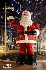Santa Claus has come to town! (Jeff Meeker) Tags: christmaslights