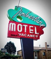 Vintage neon  & more (mollyblock) Tags: signs sign vintage colorado neon motel denver payphone aurora signage co colfax vintagesign vintageneonsign vintageneon timberlinemotel iphoneography mollyblock