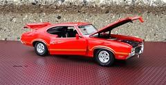 1970 Oldsmobile 442 W30 2Dr Hardtop (JCarnutz) Tags: 1970 oldsmobile 442 diecast 118scale danburymint acmetradingcompany