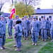 USARAF'S newest company holds change of command ceremony