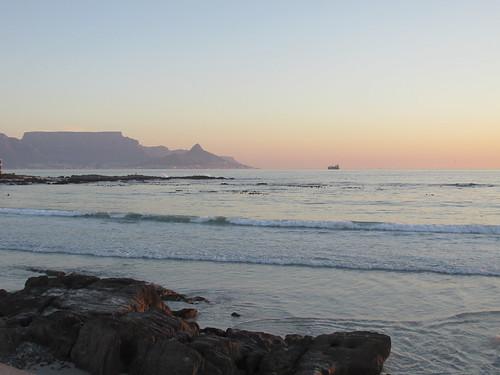 On the beach, Cape Town, Afrique du Sud