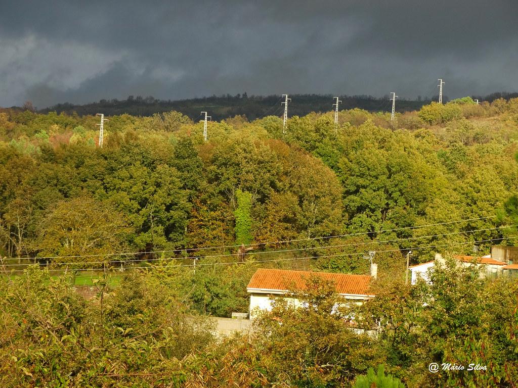 Águas Frias (Chaves) - ... aí vem chuva ...