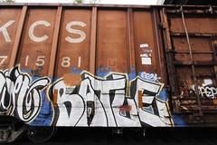 Batle (Revise_D) Tags: graffiti graff freight revised fr8 batle bsgk 663k benching batle663 benchingsteelgiants