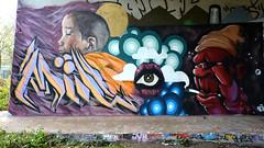 graffiti amsterdam (wojofoto) Tags: amsterdam graffiti wojofoto hof amsterdamsebrug flevopark wolfgangjosten nederland netherland holland