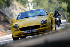 Maserati 3200 GT - GA 111 (Ben Molloy Automotive Photography) Tags: hk car yellow photography ben o automotive hong kong vehicle shek gt 3200 molloy maserati
