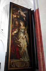 Rubens, Elevation triptych, right panel exterior