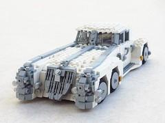 Nemo's car (Mad physicist) Tags: car nemo lego steampunk leagueofextraordinarygentlemen nemomobile