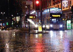 It was on a blurry night... (ccoultas) Tags: west bus london volvo glasgow yorkshire leeds first ii 400 environment wright gemini 2012 enviro 2014 bramley hunslet b9tl