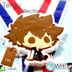 Tensu Collection สายเอี้ยมเด็กเล็ก (Cute Suspenders) สำหรับเด็กเล็กประมาณ 5 ขวบ การ์ตูนญี่ปุ่น เสื้อดำ