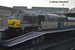 207 at Connolly, 13/12/14 (hurricanemk1c) Tags: dublin irish train gm rail railway trains enterprise railways irishrail 201 207 generalmotors 2014 emd connolly iarnrd ireann iarnrdireann 0935connollybelfastcentral