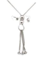 5th Avenue Silver Necklace P2230A-4