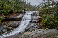 Upper Creek Falls (Sharky.pics) Tags: nature water waterfall unitedstates january northcarolina falls newland 2015 uppercreekfalls